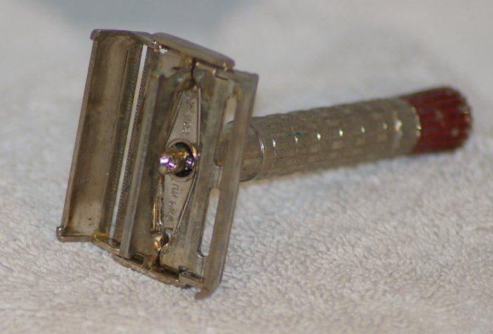 Maquinilla tradicional de abertura mariposa